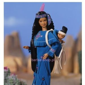 NIB 1996 American Indian Barbie